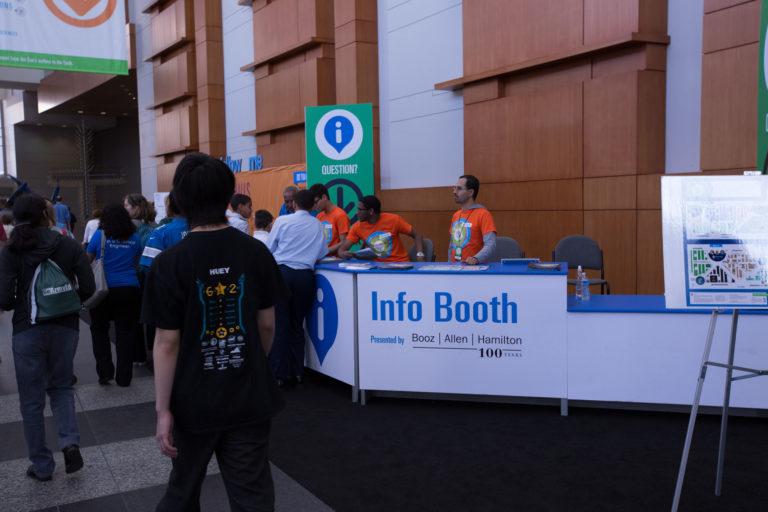 Info Booth Sponsor